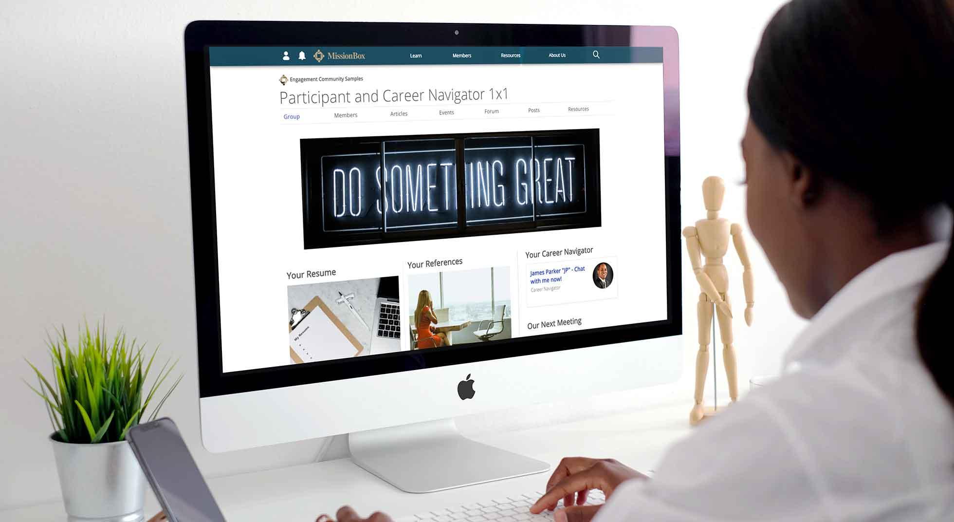 Participant and Career Navigator 1x1 Portal