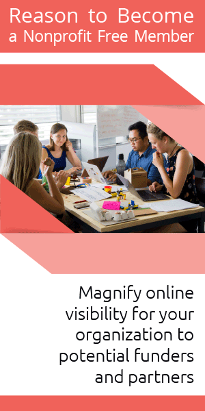 Magnify online visibility for your organization to potential funders and partners