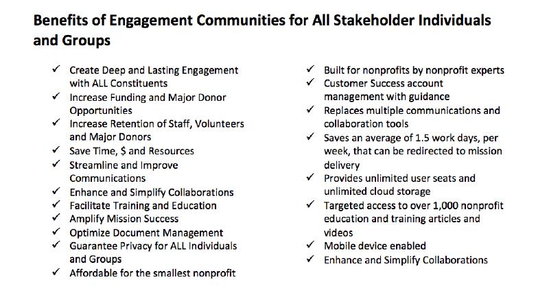 nonprofit constituent engagement benefits