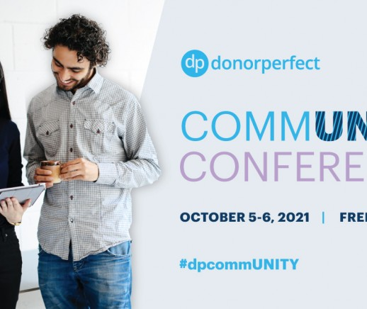 DonorPerfect's CommUNITY Conference is Coming - October 5-6, 2021 - Featured Photo