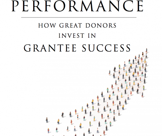 Latest From LEAP: Funding Performance - How Great Donors Invest in Grantee Success - Featured Photo