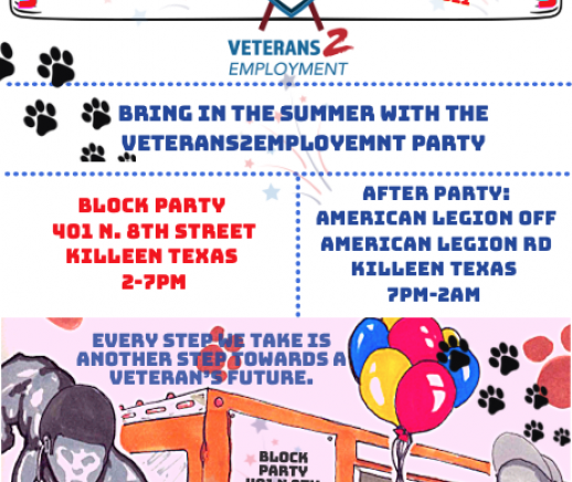 V2E Block Party/AFTER PARTY - DON'T MISS THE FUN!!! (5kRun moved to September 11th 2021) - Featured Photo