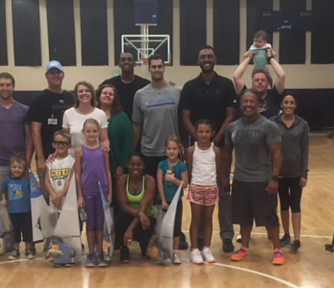 Denver Nuggets Host Basketball Clinic for DKMCF - Featured Photo