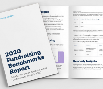 Fundraising Benchmarks Report January 2021 from DonorPerfect - Featured Photo