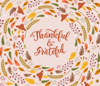 What we are Grateful For! - Featured Photo