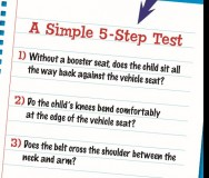 5-Step Booster Seat Test - Featured Photo