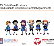 Introduction to Child Care Contract Agreements for ATX Child Care Providers - Featured Photo
