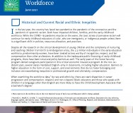 Policy Brief: Creating Equity for and within the Early Childhood Workforce - Featured Photo