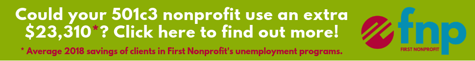 First Nonprofit: Cost Efficient and SAFE Unemployment Programs