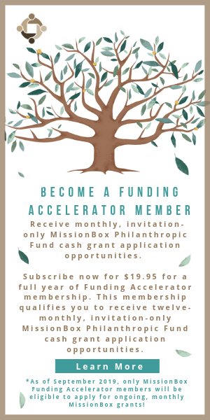 MissionBox Funding Accelerator Business:
