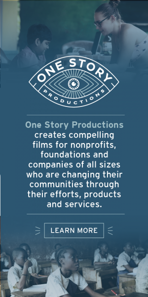 One Story Productions: We create compelling films for nonprofits of all sizes who are impacting their communities.