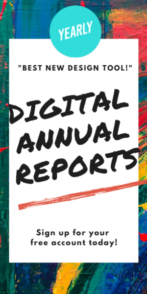 Yearly: The drag and drop digital annual report creator