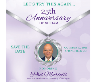 25th Anniversary of Siloam: SAVE THE DATE! - Featured Photo