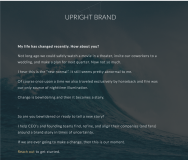 Upright Brand - Featured Photo
